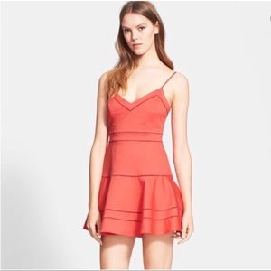Parker Gunther Salsa Fit & Flare Dress
